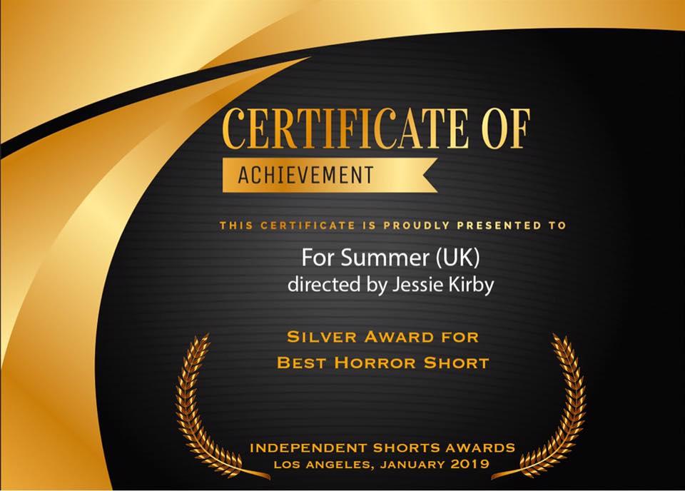 fs | silver award best horror short